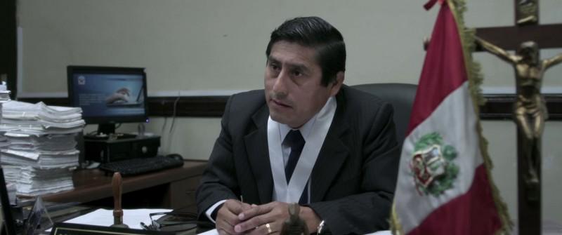 El mudo: Fernando Bacilio in una scena tratta dal film