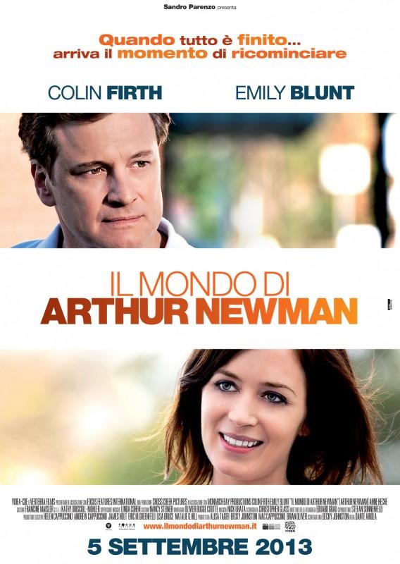 Il mondo di Arthur Newman: la locandina italiana