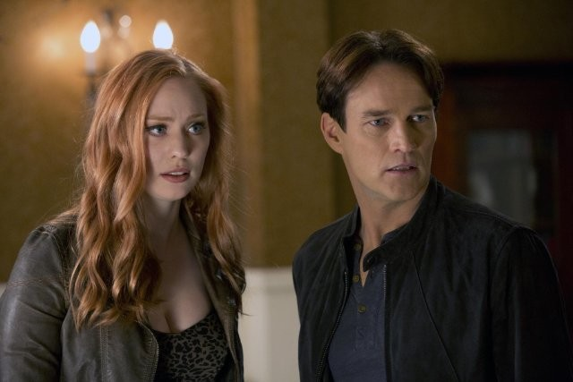 True Blood: Stephen Moyer e Deborah Ann Woll nell'episodio La trappola