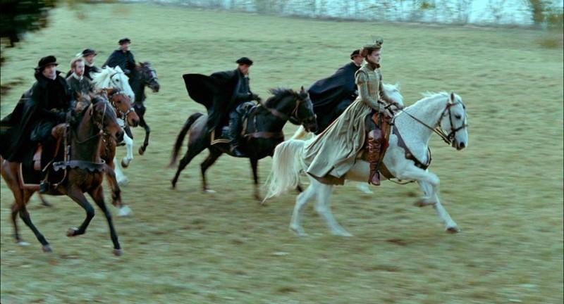 Mary Queen of Scots: una scena a cavallo