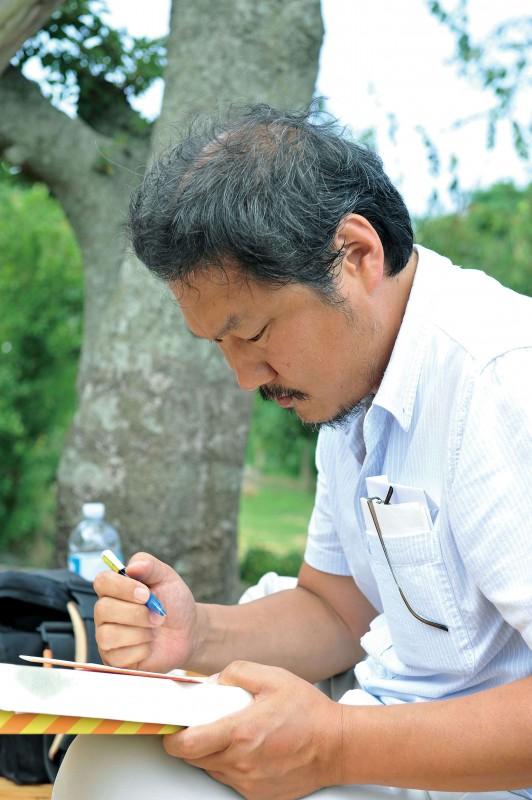 Our Sunhi: il regista del film Hong Sangsoo in una foto promozionale