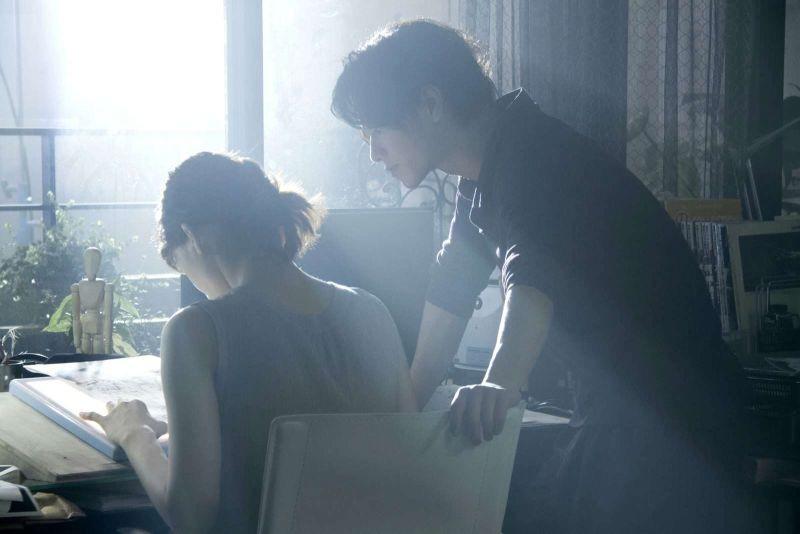 Real: Takeru Sato e Haruka Ayase in una scena del dramma sci-fi giapponese del 2013