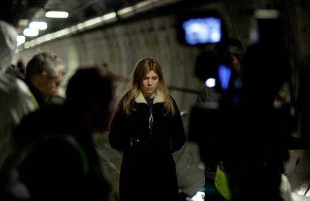 Tunnel: una prima foto dal set della serie