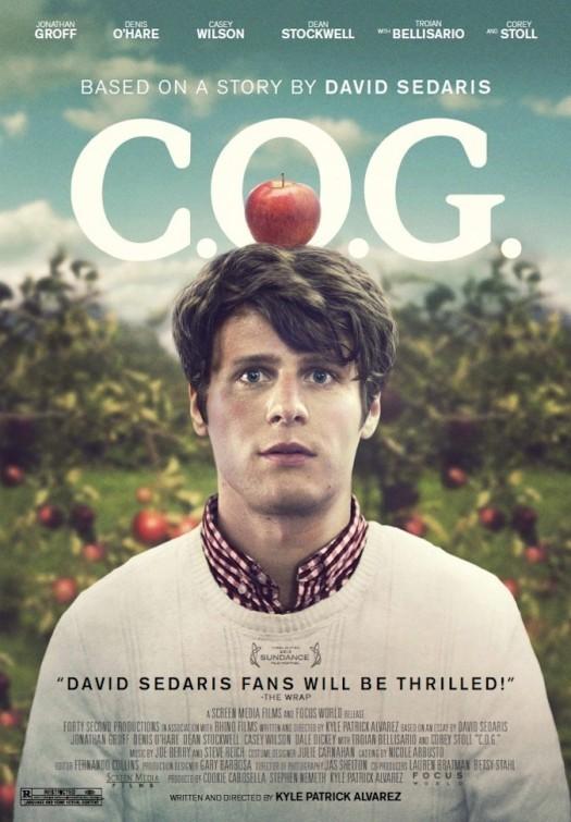 C.O.G.: la locandina del film