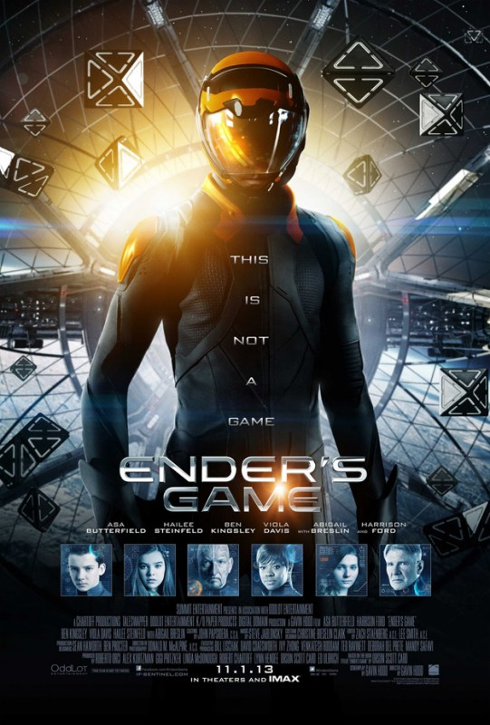 Ender's Game: il poster definitivo