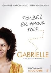Gabrielle: la locandina del film