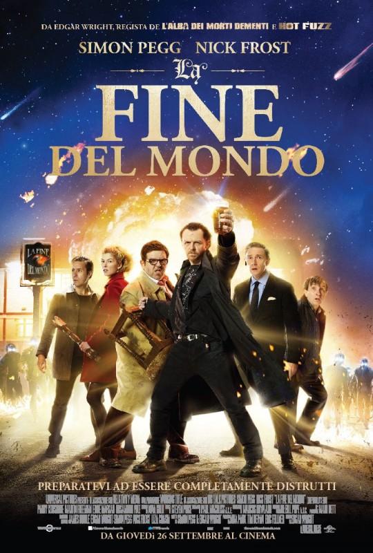 La fine del mondo: la locandina italiana