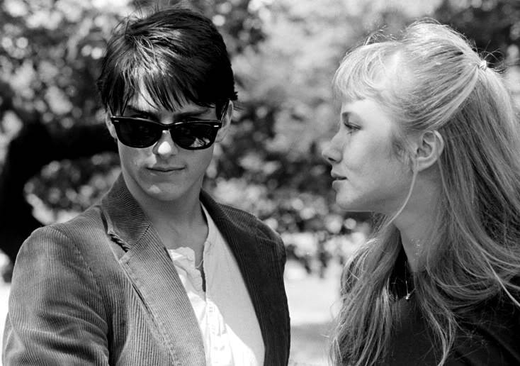 Tom Cruise in Risky Business con Rebecca DeMornay