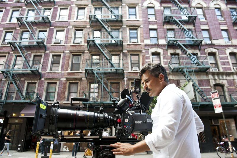 Tutta colpa di Freud: il regista Paolo Genovese sul set del film a New York