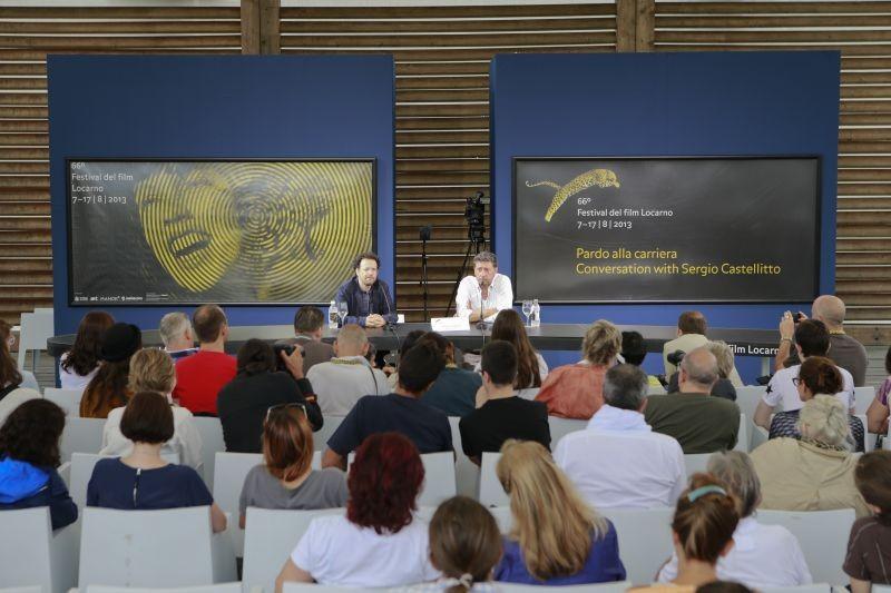 Sergio Castellitto in conferenza stampa a Locarno 2013 parla del suo Pardo alla Carriera