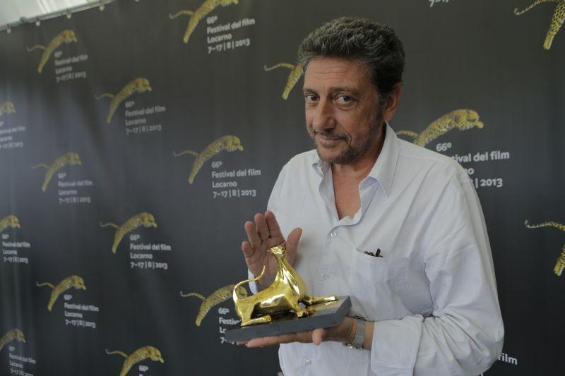 Sergio Castellitto premiato al Festival di Locarno 2013 con il Pardo alla Carriera