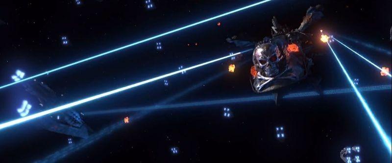 Captain Harlock: un'immagine del film animato diretto da Shinji Aramaki