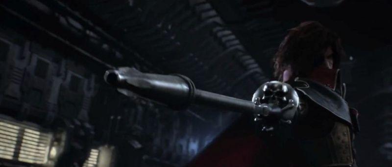 Captain Harlock: un'immagine tratta dal film d'animazione
