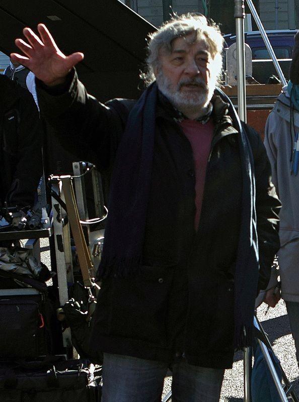 L'Intrepido: il regista Gianni Amelio sul set