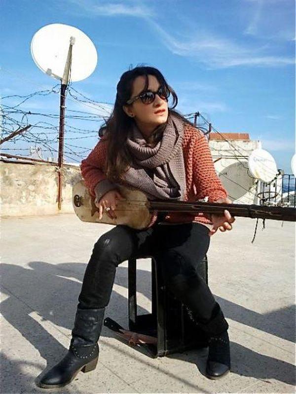 The Rooftops: Adila Bendimerad in una scena del film