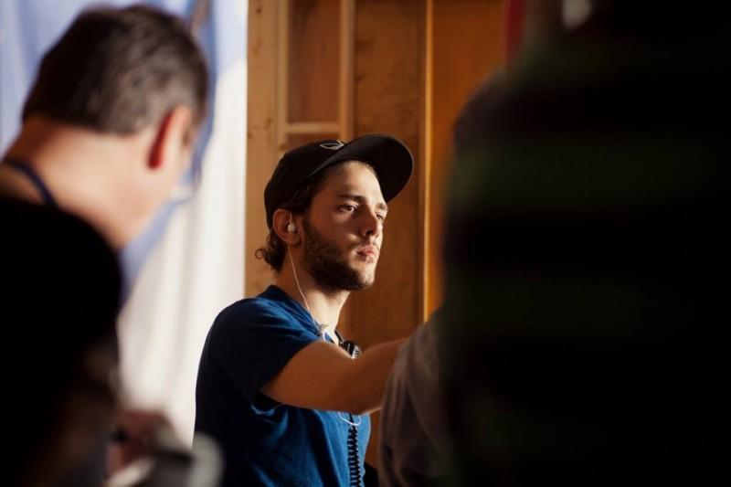 Tom At The Farm: il regista Xavier Dolan sul set