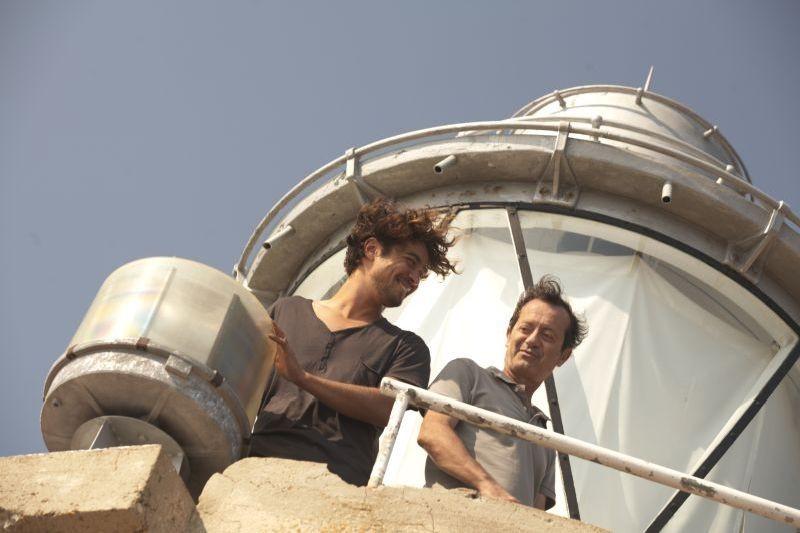 Una piccola impresa meridionale: Riccardo Scamarcio con Rocco Papaleo in un momento del film