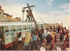 Una scena del film Jesus Christ Superstar