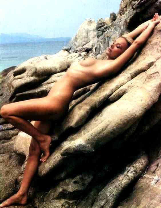 Barbara Bouchet, una foto di nudo dell'attrice