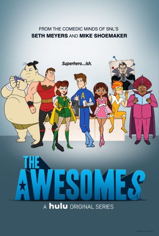 La locandina di The Awesomes