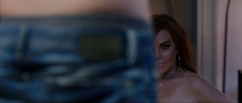 The Canyons: Lindsay Lohan in un'intrigante inquadratura del film
