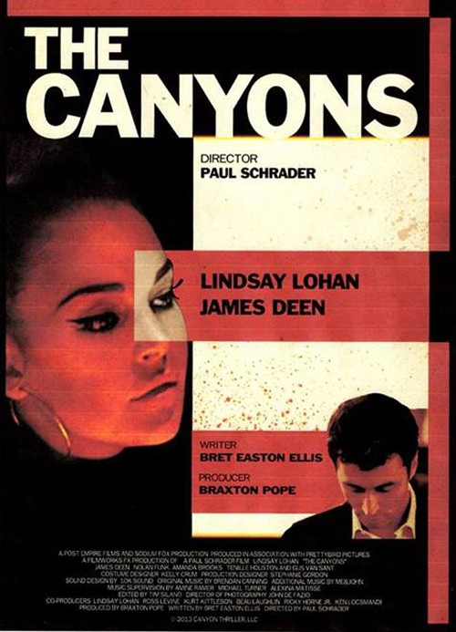 The Canyons: uno dei poster del film