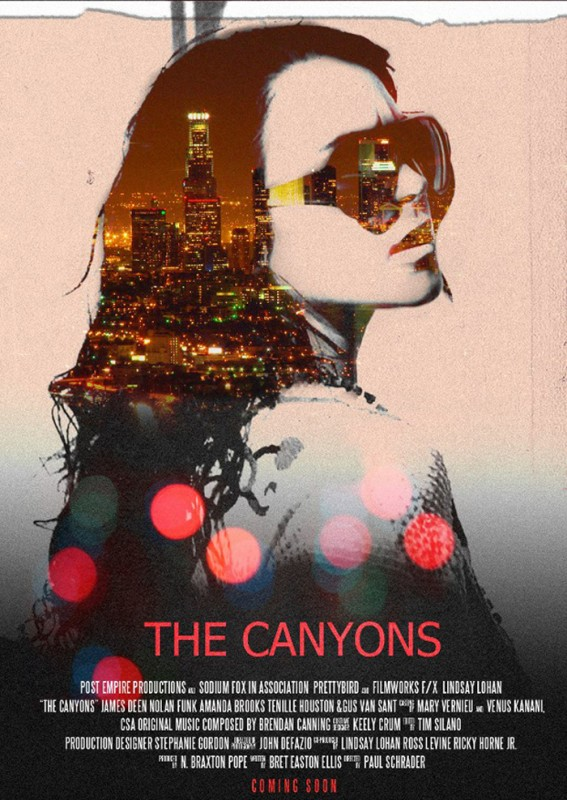 The Canyons: uno dei teaser poster del film