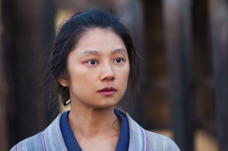Unforgiven: Eiko Koike in una scena del film western