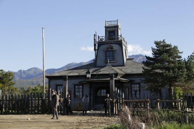 Unforgiven: una scena del film western