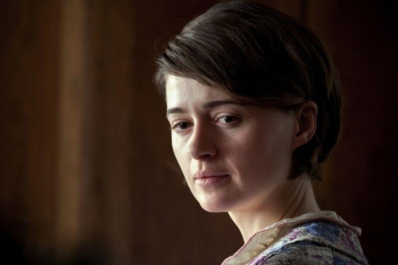 Walesa. Man of Hope: Agnieszka Grochowska in un primo piano tratto dal film