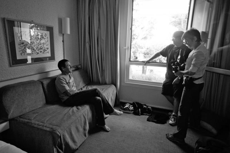 The Armstrong Lie: Lance Armstrong e Alex Gibney sul sel del documentario