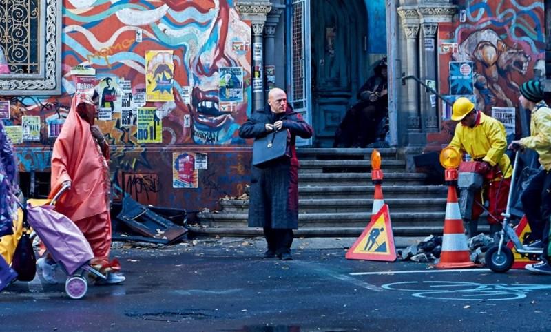 The Zero Theorem: Christoph Waltz in una scena