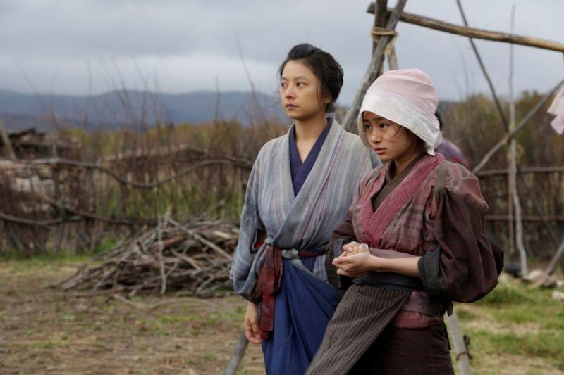 Unforgiven: Eiko Koike in una scena del film western con Shioni Kutsuna
