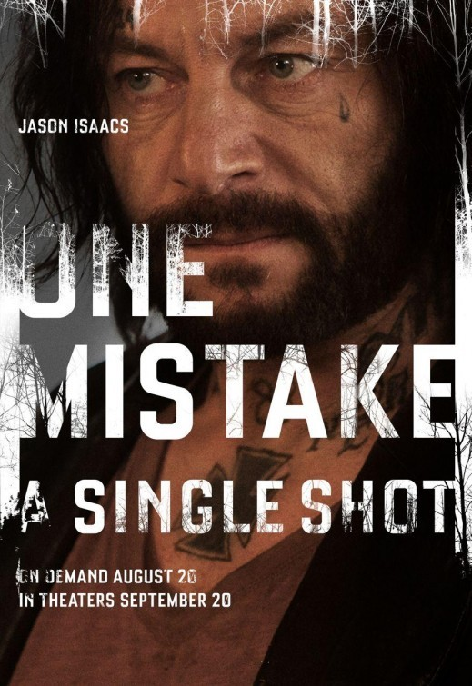 A Single Shot: character poster per Jason Isaacs