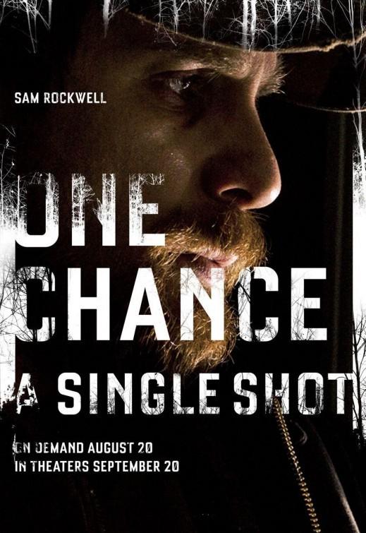 A Single Shot: character poster per Sam Rockwell