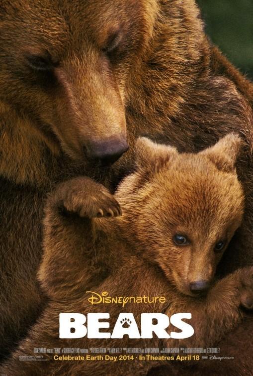 Bears: la locandina del film