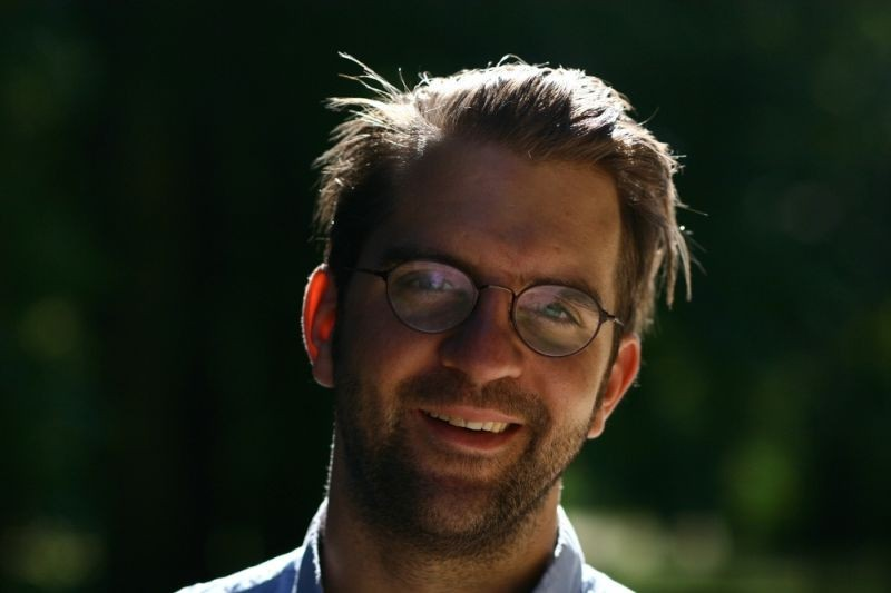 Wolfskinder: il regista Rick Ostermann in una foto promozionale