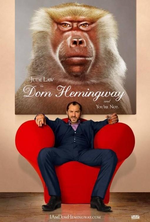Dom Hemingway: la locandina del film