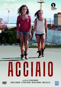 La copertina di Acciaio (dvd)