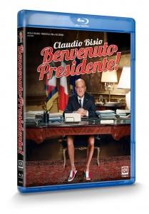 La copertina di Benvenuto Presidente! (blu-ray)