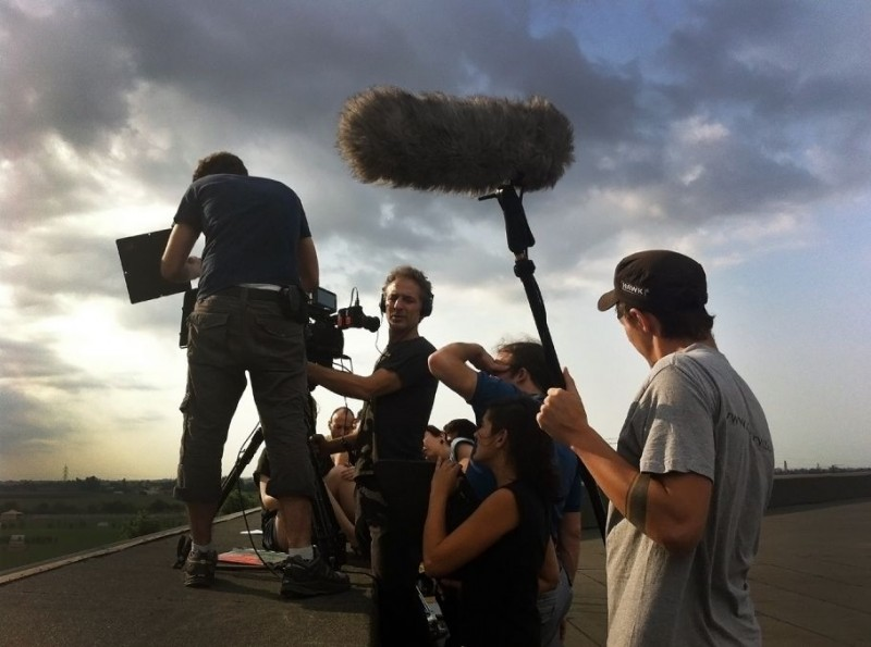 Piccola patria: il regista Alessandro Rossetto sul set del film