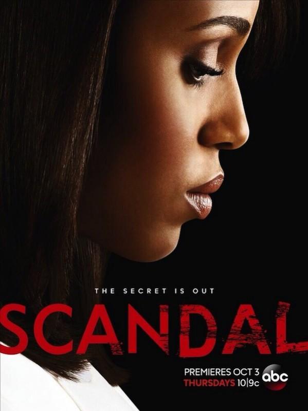 Scandal: un poster della terza stagione
