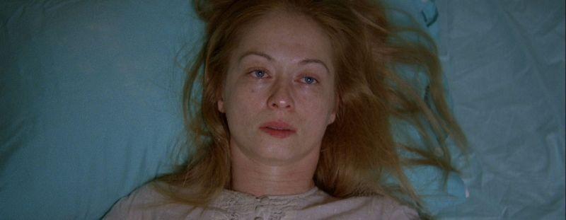 Alienation: Mariana Zhikich in una scena del film