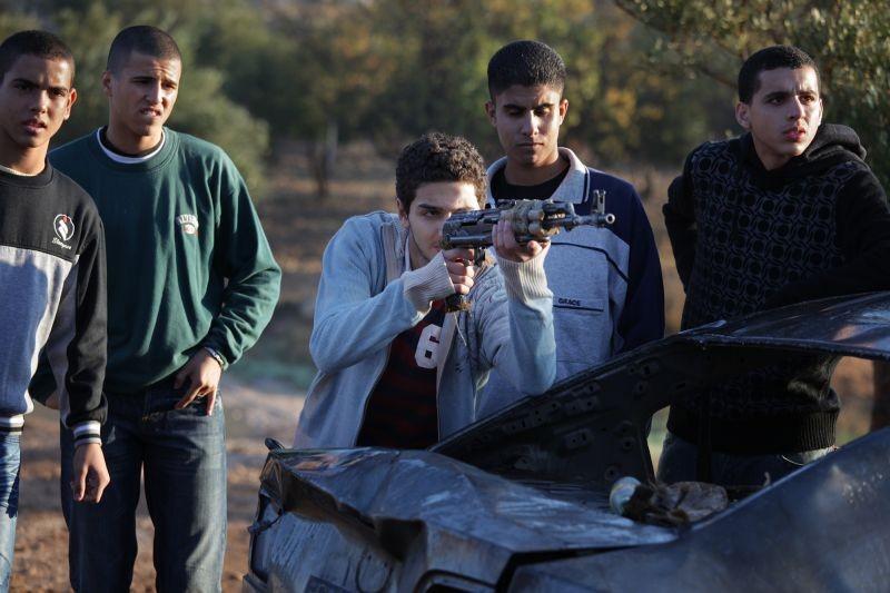 Bethlehem: Sahdi Marei prende la mira in una scena