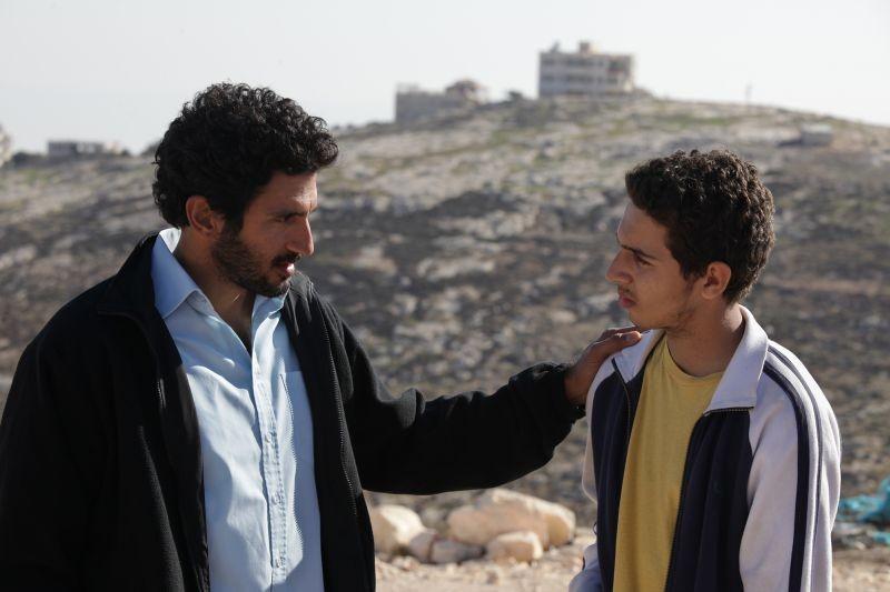 Bethlehem: Tsahi Halevi e Sahdi Marei in una scena
