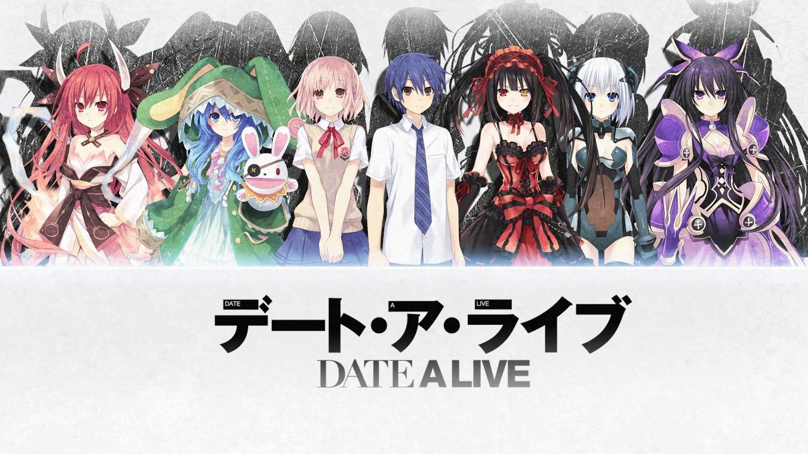 Date a Live: un wallpaper dell'anime