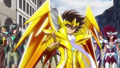 Saint Seiya Omega: una scena dell'anime