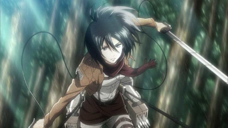 Shingeki no Kyojin: una scena dell'anime