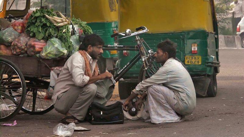 Siddhart: il protagonista Rajesh Tailang in un'immagine del film