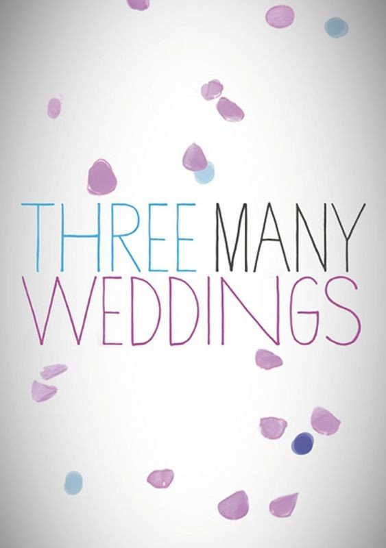 3 Many Weddings: il teaser poster internazionale